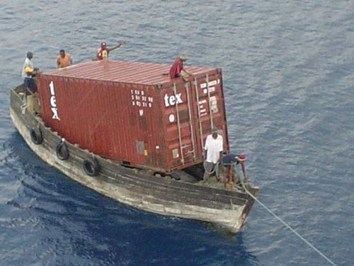 startup as container boat