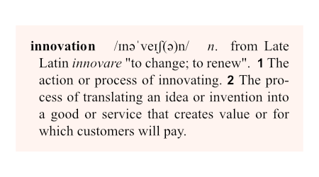 was ist innovation definition